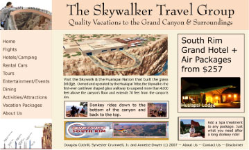 Skywalkers Travel Agency