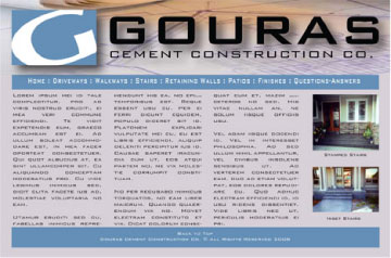 Gouras Cement Construction Company